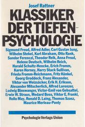 Klassiker der Tiefenpsychologie - RATTNER, JOSEF - Régikönyvek