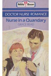 Nurse in a Quandary - Read, Grace - Régikönyvek