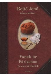 Vanekúr Párizsban és más történetek - Rejtő Jenő - Régikönyvek