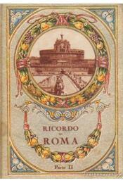 Ricordo di Roma II. - Régikönyvek