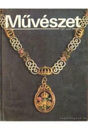 Művészet 1987. január - Rideg Gábor - Régikönyvek