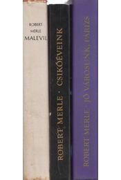 3 db Robert Merle regény - Robert Merle - Régikönyvek