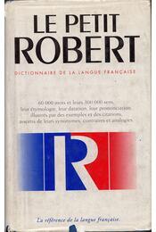 Le Petit Robert 1. - Robert, Paul - Régikönyvek