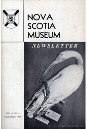Nova Scotia Museum Newsletter Vol. 2 No. 4. 1959 (Nova Scotia Múzeum hírlevele 2 évf. 4. szám. 1959) - Roberts, Inez G. (szerk.) - Régikönyvek