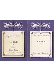 Émile I-II. extraits - Rousseau, Jean-Jacques - Régikönyvek