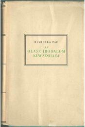 Az olasz irodalom kincsesháza - Ruzicska Pál - Régikönyvek