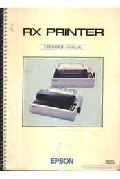 RX Printer - Régikönyvek