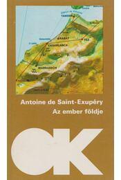Az ember földje - Saint-Exupéry, Antoine de - Régikönyvek