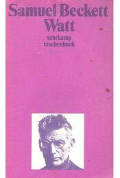 Watt - Samuel Beckett - Régikönyvek