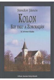 Kolon - Sándor János - Régikönyvek