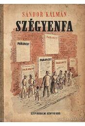 Szégyenfa - Sándor Kálmán - Régikönyvek