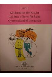 Gyermekdarabok zongorára - Satie - Régikönyvek