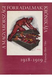 A magyarországi forradalmak krónikája 1918-1919 - Hetés Tibor - Régikönyvek