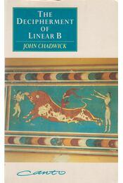 The Decipherment of Linear B - John Chadwick - Régikönyvek