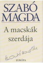 A macskák szerdája - Szabó Magda - Régikönyvek
