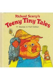 Teeny Tiny Tales - Scarry, Richard - Régikönyvek