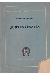 Juhtenyésztés - Schandl József - Régikönyvek