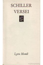 Friedrich Schiller versei - Schiller, Friedrich - Régikönyvek