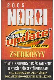 Norbi update-zsebkönyv 2005 - Schobert Norbert - Régikönyvek