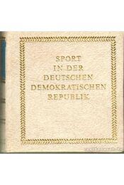 Sport in der Deutschen Demokratischen Republik (mini) - Schubert, Horst - Régikönyvek
