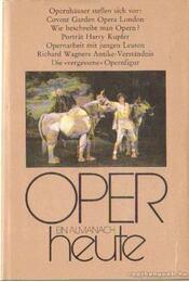 Oper heute 9. - Seeger, Horst - Régikönyvek