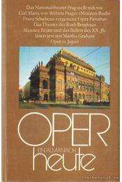 Oper Heute 8. - Seeger, Horst, Rank, Mathias - Régikönyvek