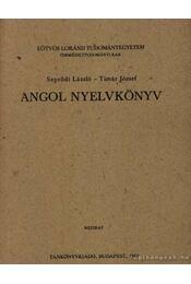 Angol nyelvkönyv - Seprődi László, Tímár József - Régikönyvek