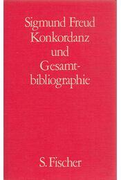 Sigmund Freud - Konkordanz und Gesamtbibliographie - Sigmund Freud - Régikönyvek