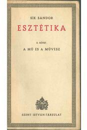 Esztétika II. - Sík Sándor - Régikönyvek