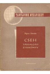 Cseh társalgási zsebkönyv - Sipos István - Régikönyvek