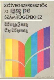 Word Star - Chi Writer - Soltész Erzsébet, Sipos Győző - Régikönyvek