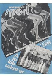 Képes sport 1988. 35. évfolyam (hiányzik a 17. és a 32. szám) - Régikönyvek