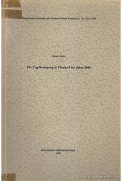 Die Vogelberingung in Finnland im Jahre 1966 (A Finnországban megjelölt madarak 1966-ban) - Stén, Ilkka - Régikönyvek