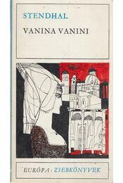Vanina Vanini - Stendhal - Régikönyvek