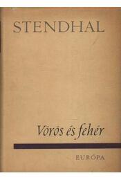 Vörös és fehér - Stendhal - Régikönyvek