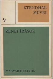 Zenei írások - Stendhal - Régikönyvek