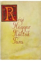 Régi magyar költők tára XVII. század 4. - Stoll Béla, Tarnócz Márton, Varga Imre - Régikönyvek