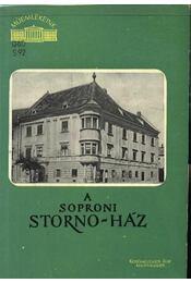 A soproni Storno-ház - Storno Pál - Régikönyvek