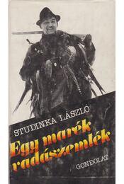 Egy marék vadászemlék - Studinka László - Régikönyvek