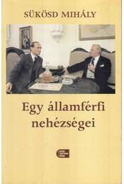 Egy államférfi nehézségei - Sükösd Mihály - Régikönyvek