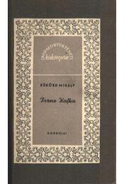 Franz Kafka - Sükösd Mihály - Régikönyvek