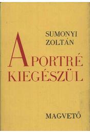 A portré kiegészül - Sumonyi Zoltán - Régikönyvek