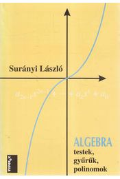 Algebra - Surányi László - Régikönyvek