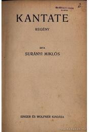 Kantate - Surányi Miklós - Régikönyvek