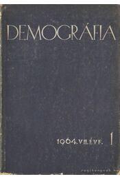 Demográfia 1964. VII. évf. 1 - Szabady Egon dr. - Régikönyvek