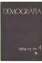 Demográfia 1969. XII. évf. 4 - Szabady Egon dr. - Régikönyvek