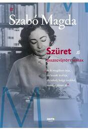 Szüret - Szabó Magda - Régikönyvek