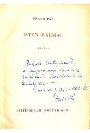 Isten malmai (dedikált) - Szabó Pál - Régikönyvek