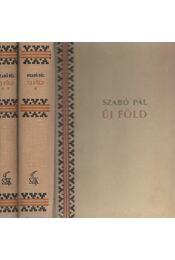 Új föld I-II. (dedikált) - Szabó Pál - Régikönyvek