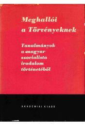 Meghallói a Törvényeknek - Szabolcsi Miklós, Illés László - Régikönyvek